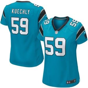 Women's Carolina Panthers Luke Kuechly Jersey